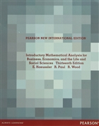 Introductory Mathematical Analysis for Business, Economics, and the Life and Social Sciences Thirteenth Edition (Şifreli)
